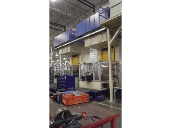 500 ton Schuler Hydraulic Press
