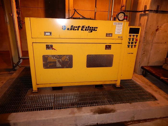 Used JET EDGE ULTRA HIGH PRESSURE INTENSIFIER PUMP