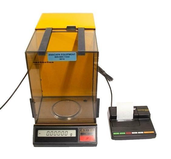 Used Sartorius R200D-V20 Analytical Balance Digital Scale w/ Glass Shield USED 9016)R
