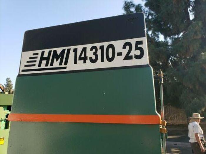 USA HMI HEAVY DUTY 143 TON IRONWORKER MDL 143-1025 HYDRAULIC FABRICATION MACHINE