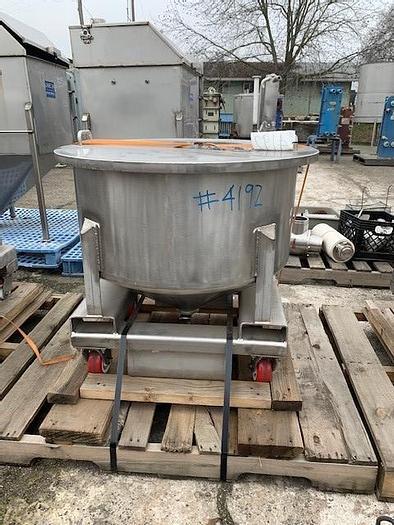 Used Stainless Steel Tote Tank