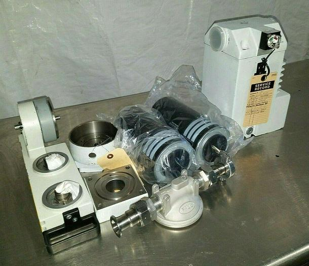 Used Leybold AR S40/65 with CFS 40-65 Chemical Filter for Leybold D 40BCS