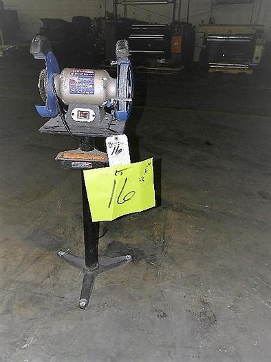 """Used 8"""" Westward 120 Volt Double End Grinder stock# 4679-011"""