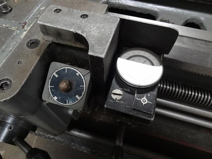"SOUTHBEND MODEL 16"" X 60"" MODEL 400 GEARED HEAD ENGING LATHE"