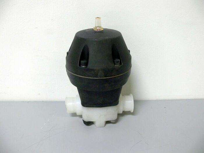 "Used Diaphragm Actuator 2"" OD Sanitary Fitting"