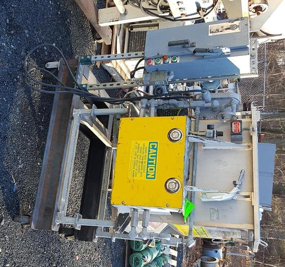Used 2 CU. FT. AMERICAN PROCESS FORBERG FLUIDIZING MIXER – S/S (#9360)