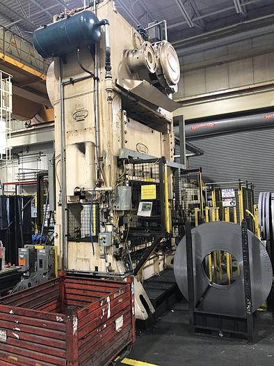 """Used 300 ton Danly 72""""x42"""" SSDC Press"""