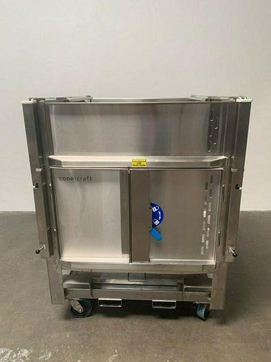 Used ConeCraft 1000 Liter Stainless Steel BioReactor Bin Cat# 400105