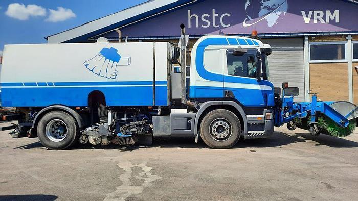 Gebruikt 2007 Scania P270 + Beam S8000