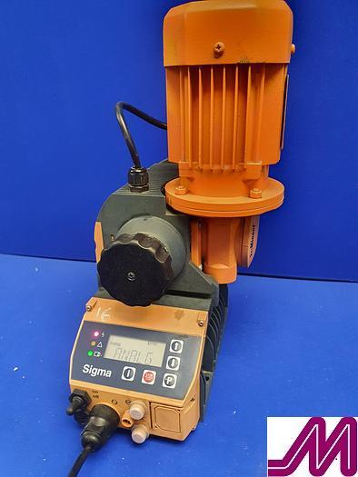 Used 2006 Sigma X Prominent S1CAH Diaphragm Metering Pump S1CAH 10044PVT0000UA01000