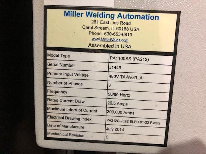 MILLER PERFORM ARC 1100SS (2014)