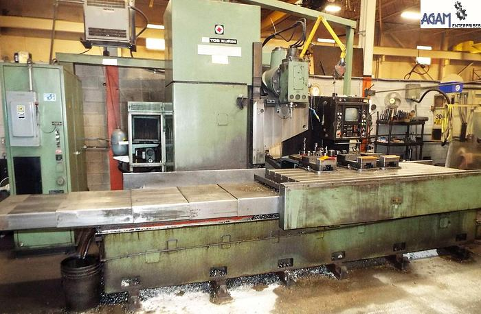 Used TOS FSS80 CNC Bed Milling Machine
