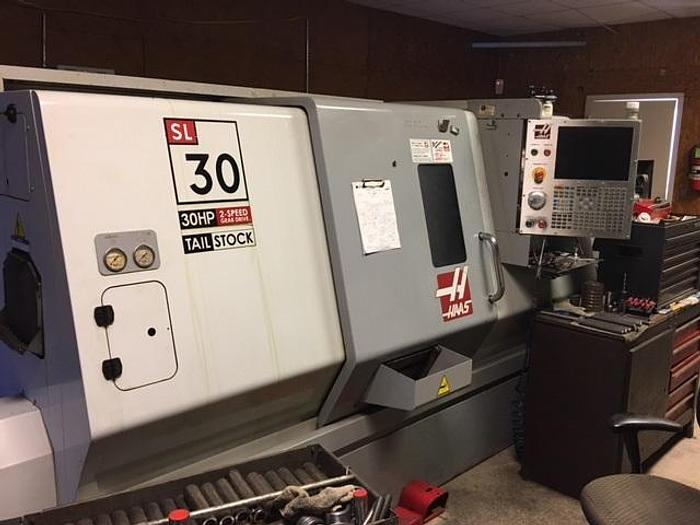 2008 Haas SL-30T CNC Lathe (Gearbox) Excellent Condition