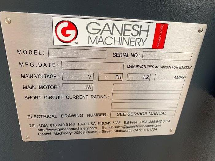 """Used NEW 13""""/18"""" x 40"""" GANESH GT-1340, 3HP, 70 - 2000 RPM, 1-1/2"""" SPINDLE BORE [5510]"""