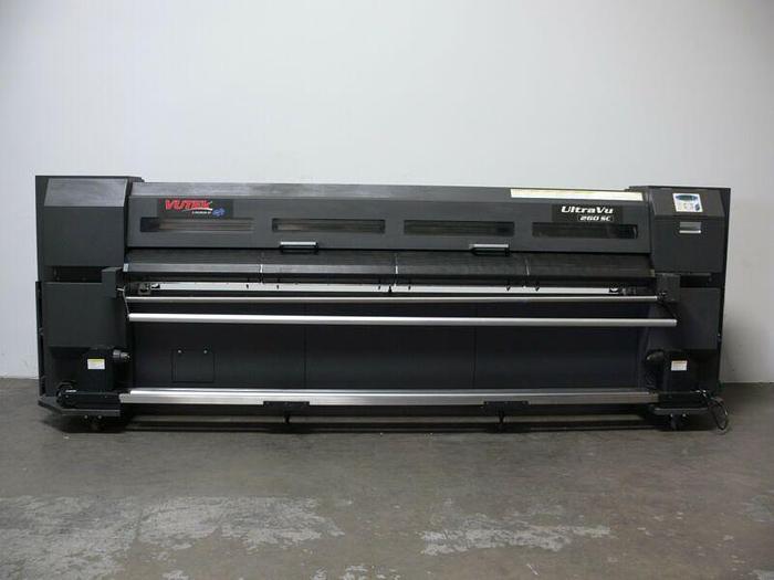 Used VUTEK Ultra Vu 260 SC Wide Format  CMYK 6 Color Solvent Printer