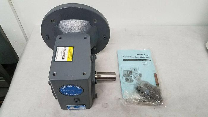 Used Boston Gear Worm Gear Speed Reducer 700 Series