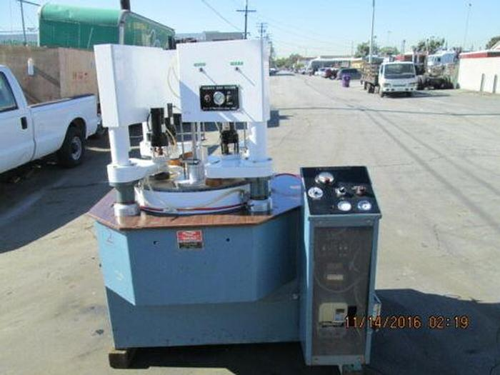STRASBAUGH MODEL 6BA-4 FOUR HEAD LAPPING MACHINE / VARI SPEED POLISHING SYSTEM