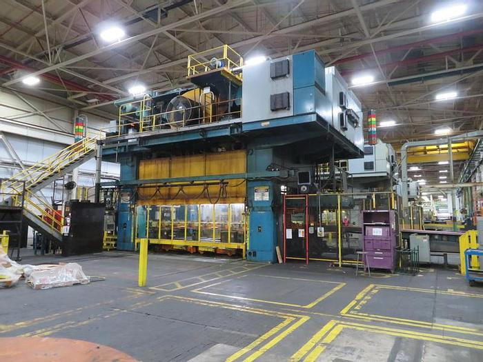Used 2000 ton Verson Transfer Press