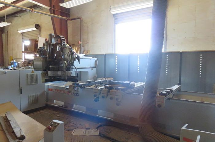 Used Holzher Pro Master XL 7223 CNC Router
