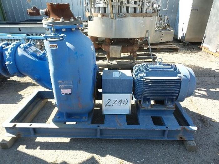 Used Gorman-Rupp 10'' Trash Pump Super T Series
