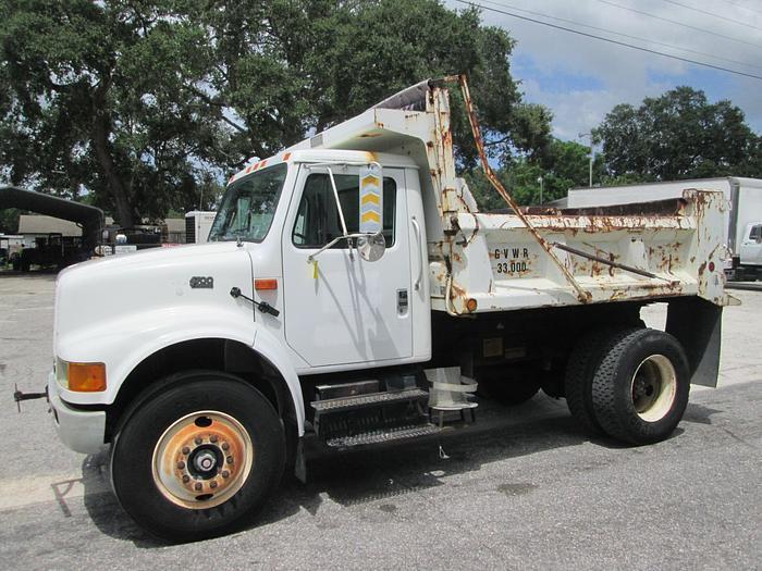 Used 2000 International 4700 Dump Truck