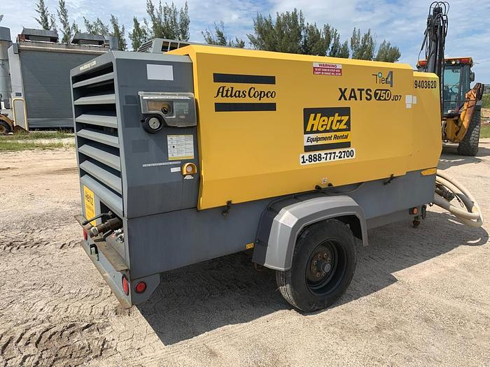 2012 ATLAS COPCO XATS750JD