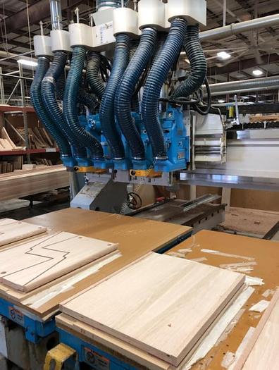 Used Shoda Maxxim Twin Table CNC