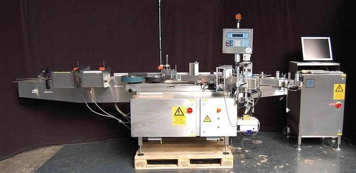 Used M 14775 D - Labeller NEWMAN 8FL for round objects
