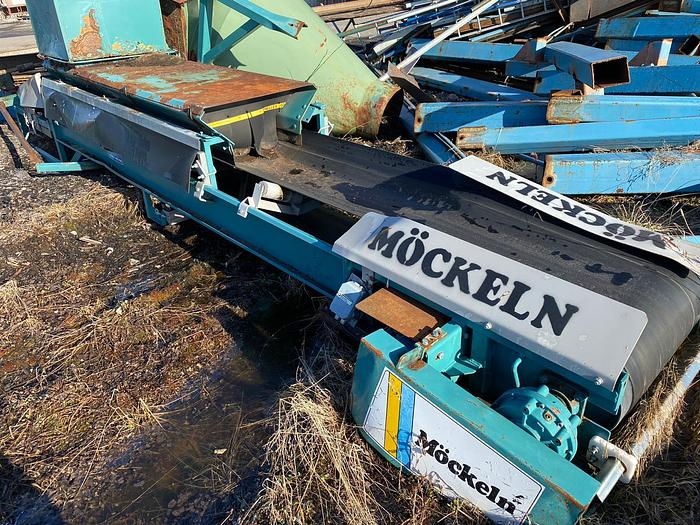 Used Mocklen AB, Belt conveyor