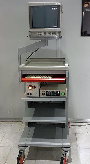 Gebraucht PENTAX Endoskopie Videosystem CTL Workstation Serie 7000