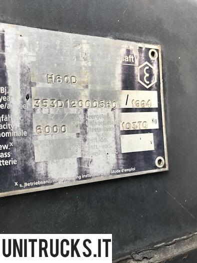 Usata 1993 LINDE H60D