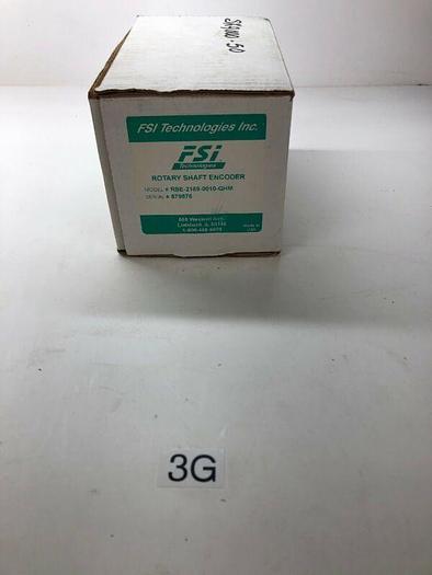 NEW FSI TECHNOLOGIES RSE-2169-0010-
