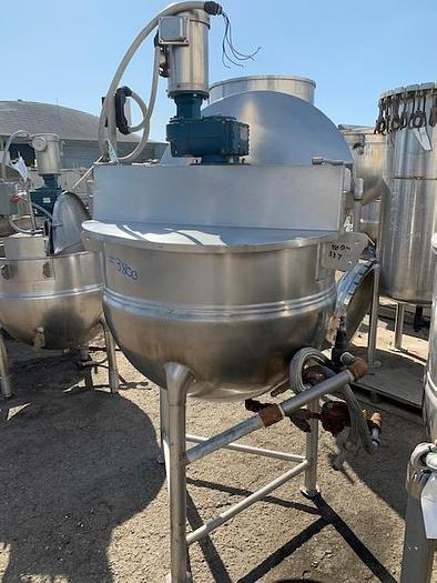 Hamilton 100 gal Stainless Steel Jacketed Mix Kettle