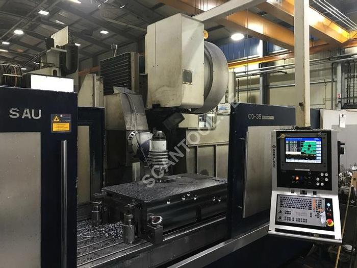 Använd 2009 Soraluce TA-35, from 2009, Bed milling machine 1106
