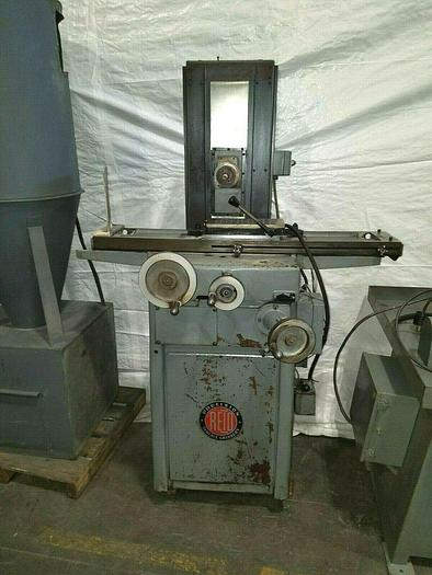 """Used Reid Precision Surface Grinder Model 6"""" x 12"""" 550 Volts with Magnetic Chuck"""