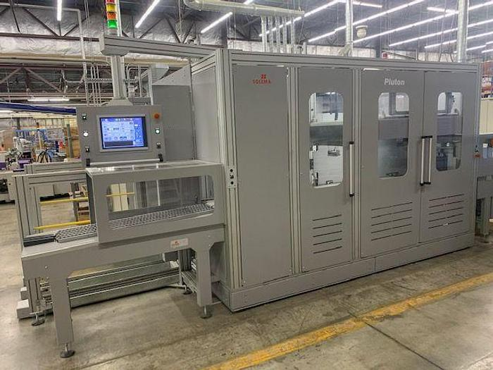 Used Solema Pluton Automatic Palletizer  2019