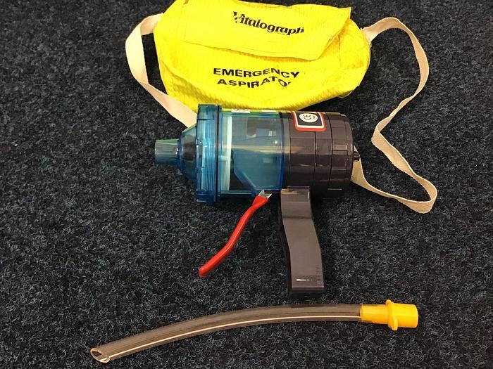 Vitalograph Emergency Aspirator in bag 2510