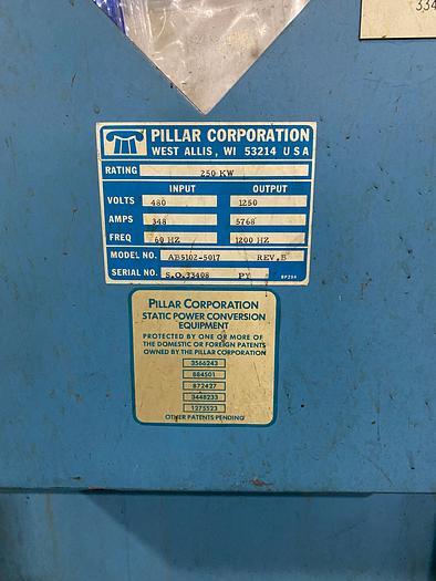 PILLAR 500 LB LIFT SWING FURNACE AB5102-5017 MARK8