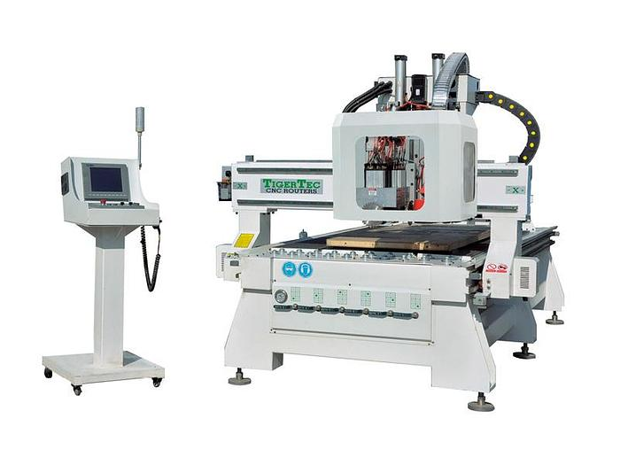 CNC Router TR408H ATC with boring unit