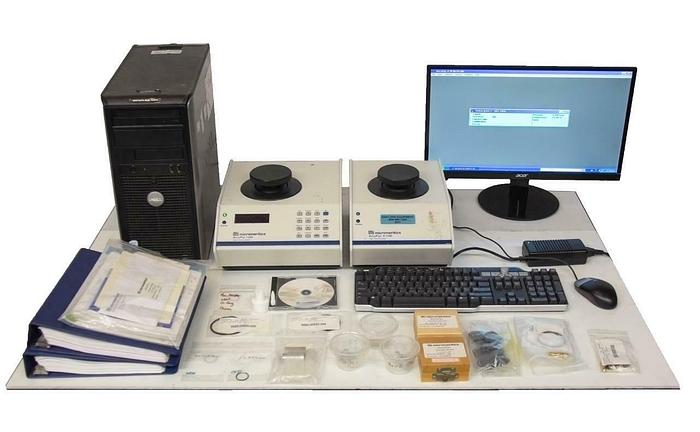 Used Micromeritics Accupyc II 1340 Gas Pycnometer Computer & Software 10-cc (8937)R