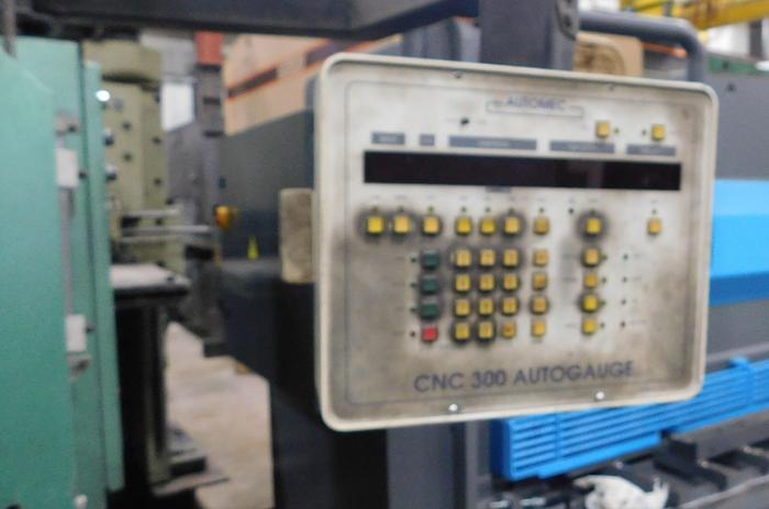 Used 2004 Piranha 12' x 175 Ton Hydromechanical Press Brake 17512