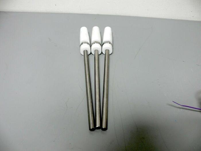 "Used Lot of 3 - Mixing shaft 9.5"" Long x 3/8"" diameter"