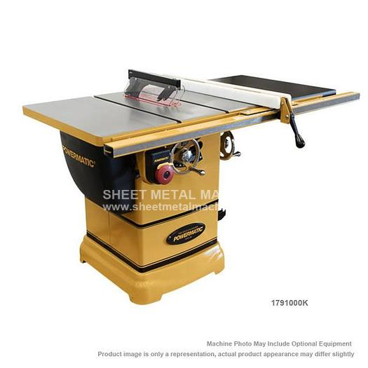 "POWERMATIC PM1000 Tablesaw 1-3/4HP 1PH 115V 30"" Accu-Fence System with Riving Knife 1791000K"