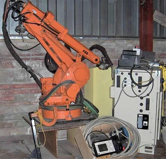 Used ABB Robotic Welder IRB 1400 M97A