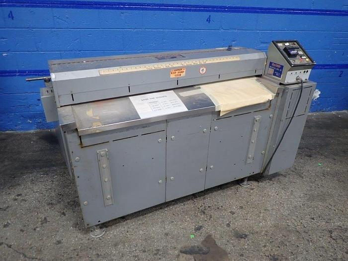 "Used 48"" ROSENTHAL SHEETER WRAP O MATIC MODEL WA-S-4-U"