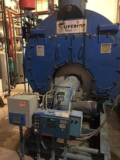 Used 2000 SUPERIOR 200HP BOILER 150 PSI Steam Boiler