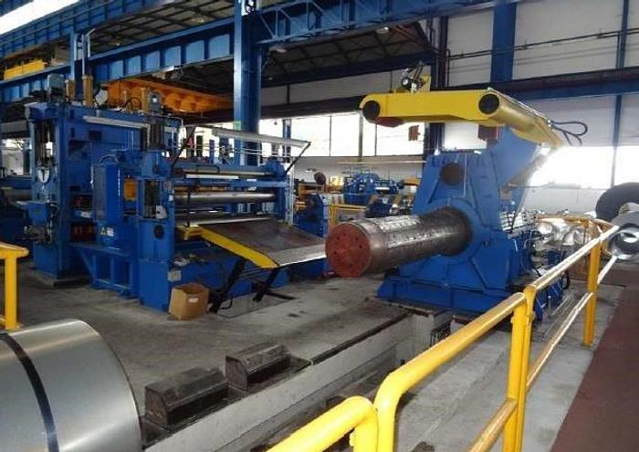 Used 1650mm x 3mm Cut-to-Length Line: CTL-138