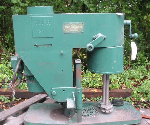 Used 2 HP MYERS DUAL SHAFT DISPERSER – S/S – V/S