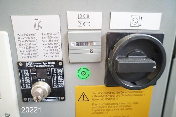 #20221 - GILDEMEISTER NEF 520 - Heidenhain Manual Plus