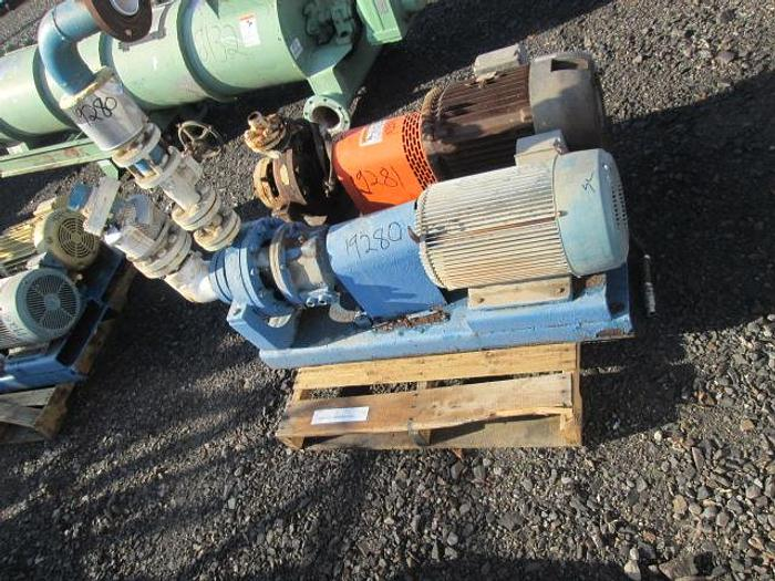 Used Grundfos Boiler Makeup Water Pump; 25HP